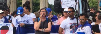 Protestaktion vor dem Brandenburger Tor